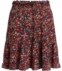 rok met bloemenprint ayesha  rood
