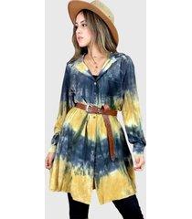 blusón holgada hippie chic negro enigmática boutique