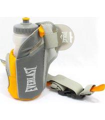 cinturon botella de hidratacion everlast evwbb111t - gris