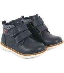 botin sam azul marino black and blue