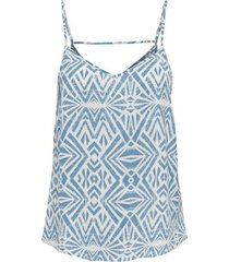 top only t-shirt femme onlnova life paris singlet aop wovens 9