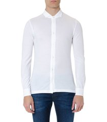 zanone white cotton shirt