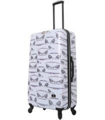 """halina valerie valerie aubergine 28"""" hardside spinner luggage"""