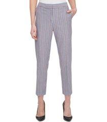 tommy hilfiger cotton sloane striped pants