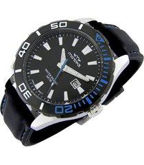 reloj negro montreal combinado