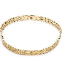 10k goldplated & crystal bracelet