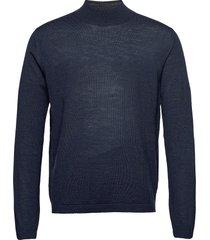 tern gebreide trui met ronde kraag blauw tiger of sweden