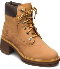 kinsley 6 inch waterproof boot shoes boots ankle boots ankle boot - heel beige timberland