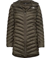 w trevail parka parka lange jas jas groen the north face