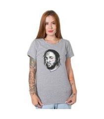 camiseta  kendrick lamar cinza stoned