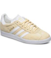 gazelle låga sneakers creme adidas originals