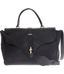 borsa donna a mano shopping in pelle tube satchel
