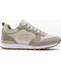 sneaker skechers con memory foam (marrone) - skechers