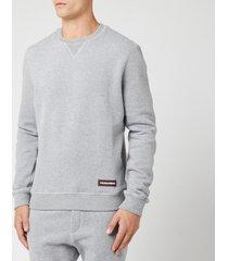 dsquared2 men's crewneck sweatshirt - grey - m