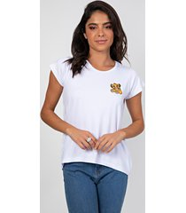 t-shirt myah lion branco