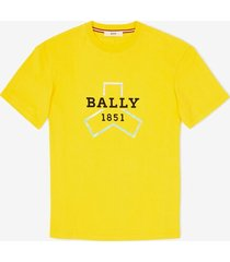 bally grip printed t-shirt yellow xl