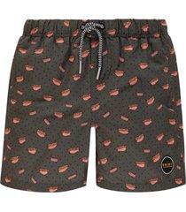 shiwi jongens zwembroek - hotdog groen-128
