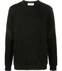 1017 alyx 9sm long sleeve sweatshirt - black
