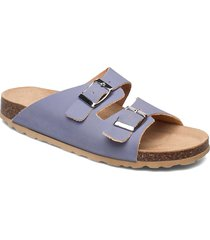 biabetricia buckle sandal shoes summer shoes flat sandals blå bianco