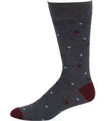 collection mini snowflakes crew socks