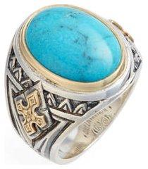 men's konstantino heonos turquoise ring