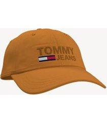 tommy hilfiger men's tommy jeans cap golder rod -