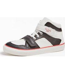 sneakersy z powlekanymi wstawkami model luiss (35-38)