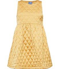 iggycras quiltec dress kort klänning gul cras