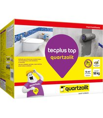 impermeabilizante tecplus top quartzolit, 18 kg