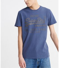 superdry men's bonded t-shirt
