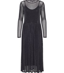 alberte midi dress maxiklänning festklänning svart soft rebels