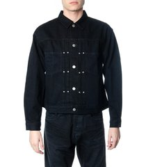 john elliott type ii black denim jacket