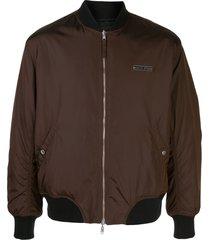 supreme x jean paul gaultier backpack jacket - brown