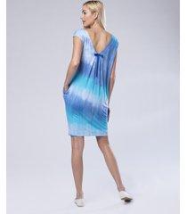 sukienka letnia skyblue look