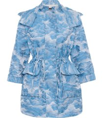 casaco feminino sky - azul
