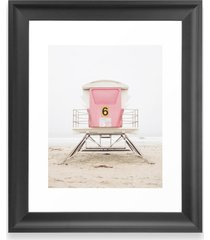 deny designs pink tower art print, size one size - pink