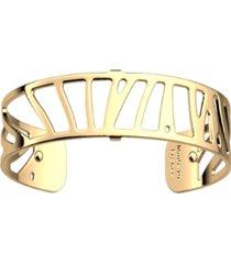 les georgettes by altesse rectangular openwork thin adjustable cuff bracelet