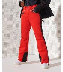 superdry women's slalom slim pants