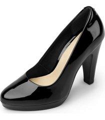 zapato mujer granada negro flexi