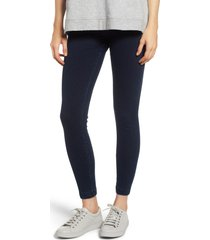 women's lysse high waist denim leggings, size large - blue
