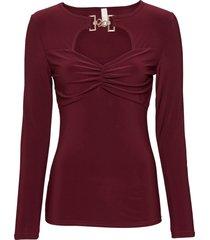 maglia con fibbia (rosso) - bodyflirt boutique