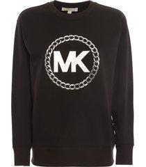 chain logo sweatshirt