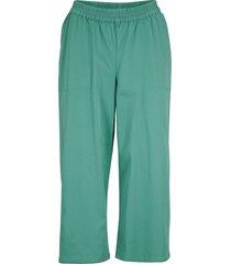 pantaloni culotte anti uv in cotone (verde) - bpc bonprix collection