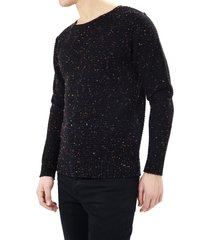 sweater brave soul negro - calce regular