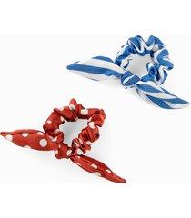 elastico per capelli (set 2 pezzi) (blu) - bpc bonprix collection