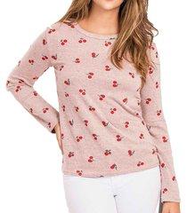 blusa piaf coral para mujer croydon