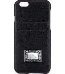 custodia smartphone con bordi protettivi versatile, iphoneâ® 6 plus / 6s plus, nero