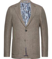 bs trentino slim blazer colbert grijs bruun & stengade