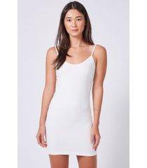 vestido underwear off white