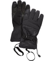 spyder men's overweb gtx gloves